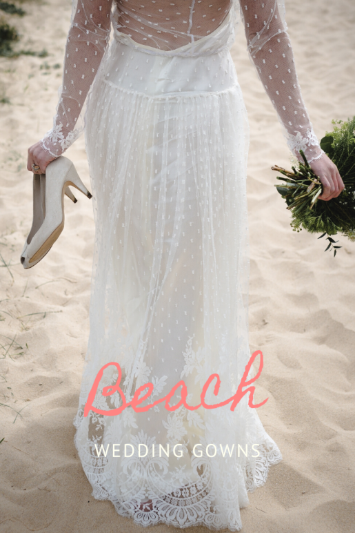 Find Your Perfect Beach Wedding Gown