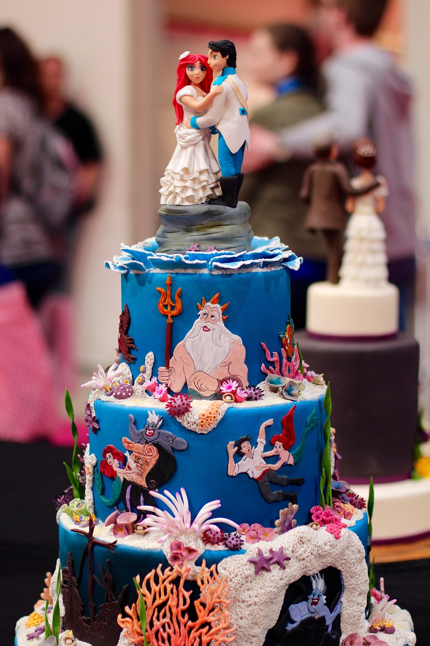 Decorative Mermaid Cake