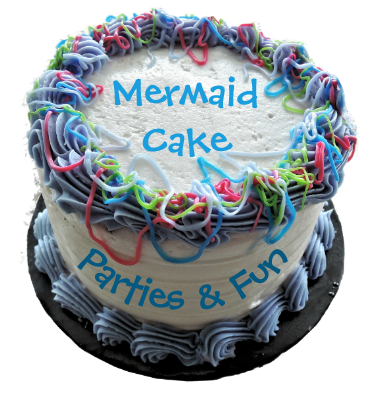 Mermaid Cake, Parties And Fun!