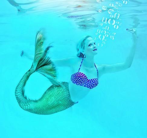 A Mermaid In Motion